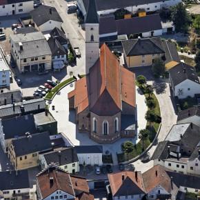 Luftbild von Frontenhausen